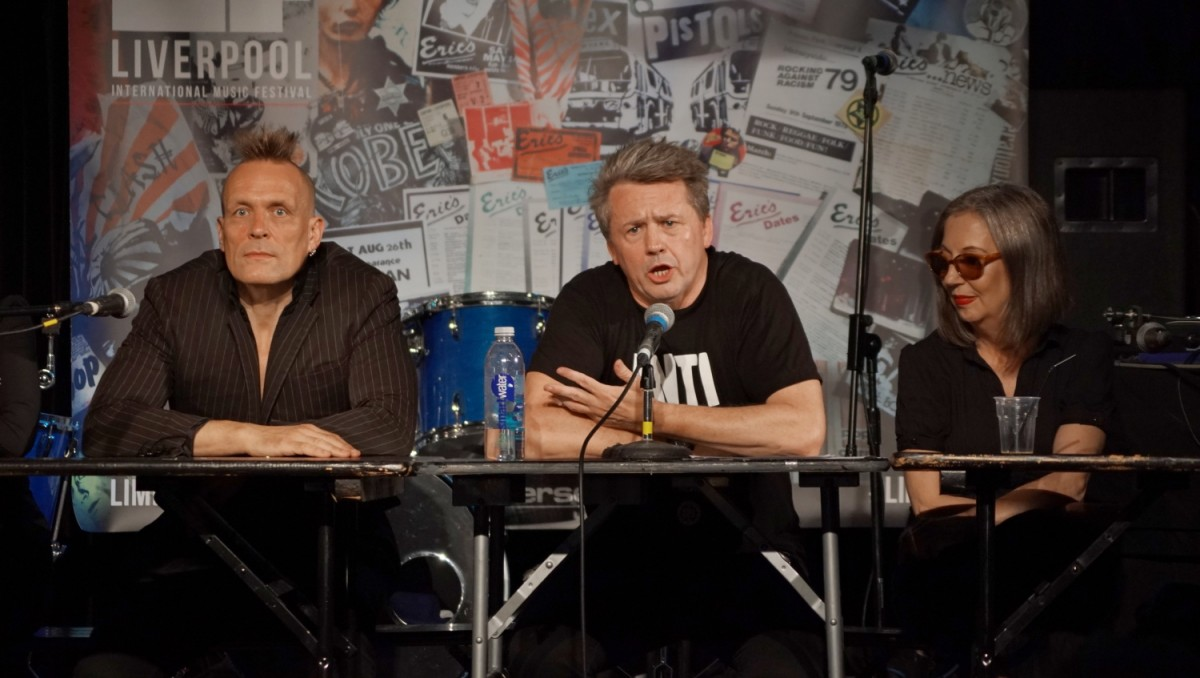 John Robb, Marc Jones, Jayne Casey: From Eric's To Evol: The Story of Punk and Counterculture