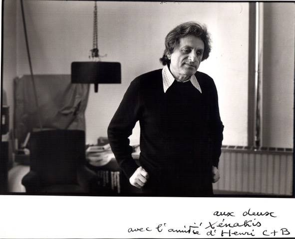 Iannis Xenakis Pic - Karlrecords' Facebook page