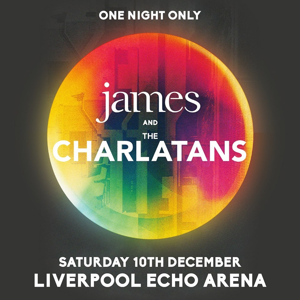 James and The Charlatans announcement