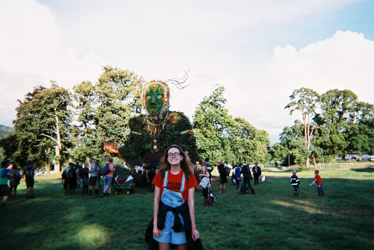 Emilia at Greenman 2016