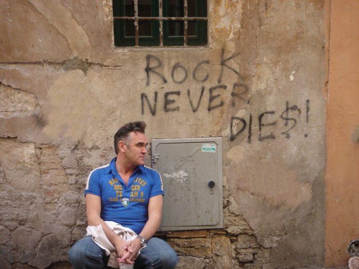 Morrissey rock never dies