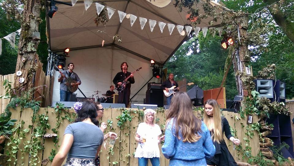 Younghusband at Festival Number 6 on the Lost in the Woods Stage