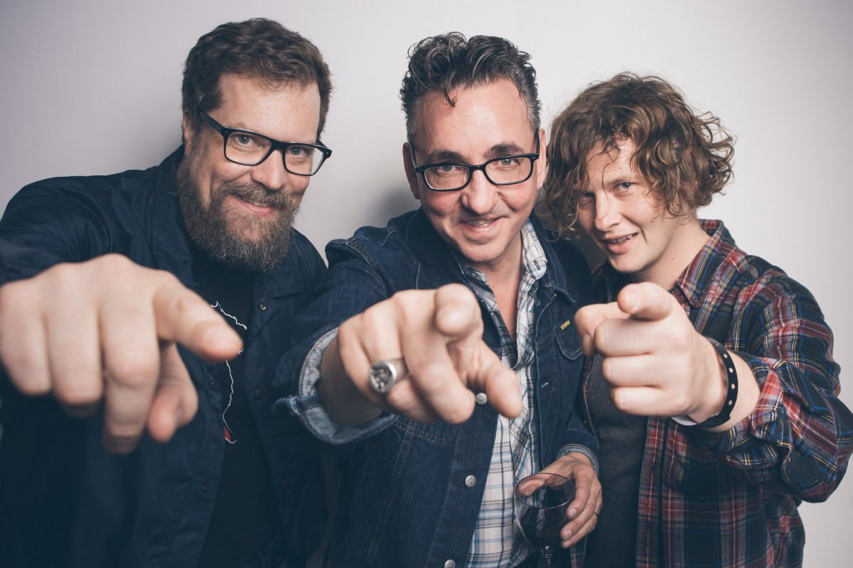 John Grant, Richard Hawley and Bill Ryder-Jones post Sensoria Festival