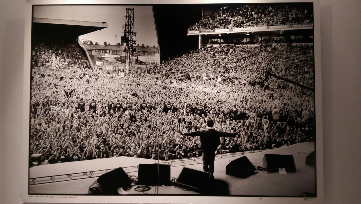 Maine Road photography at the Oasis exhibition
