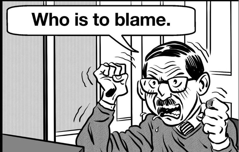 Who Is To Blame? (photo from Liverpool Small Cinema website)
