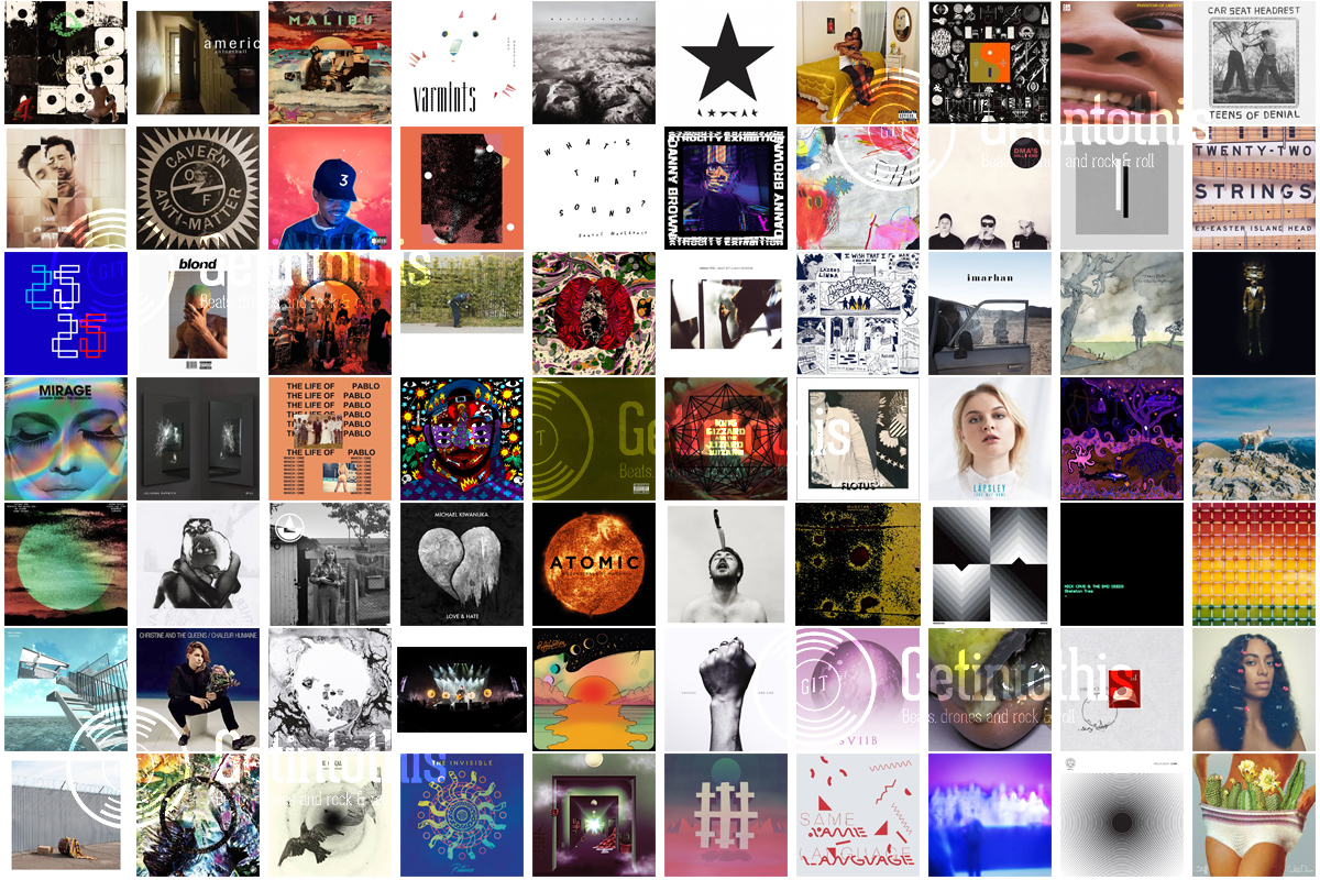getintothis top 100 albums of 2016 a year in review getintothis