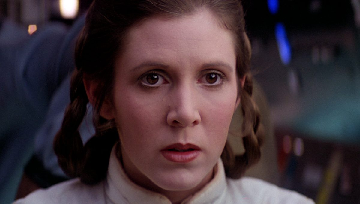 Carrie Fisher in her most famous role - Princess Leia