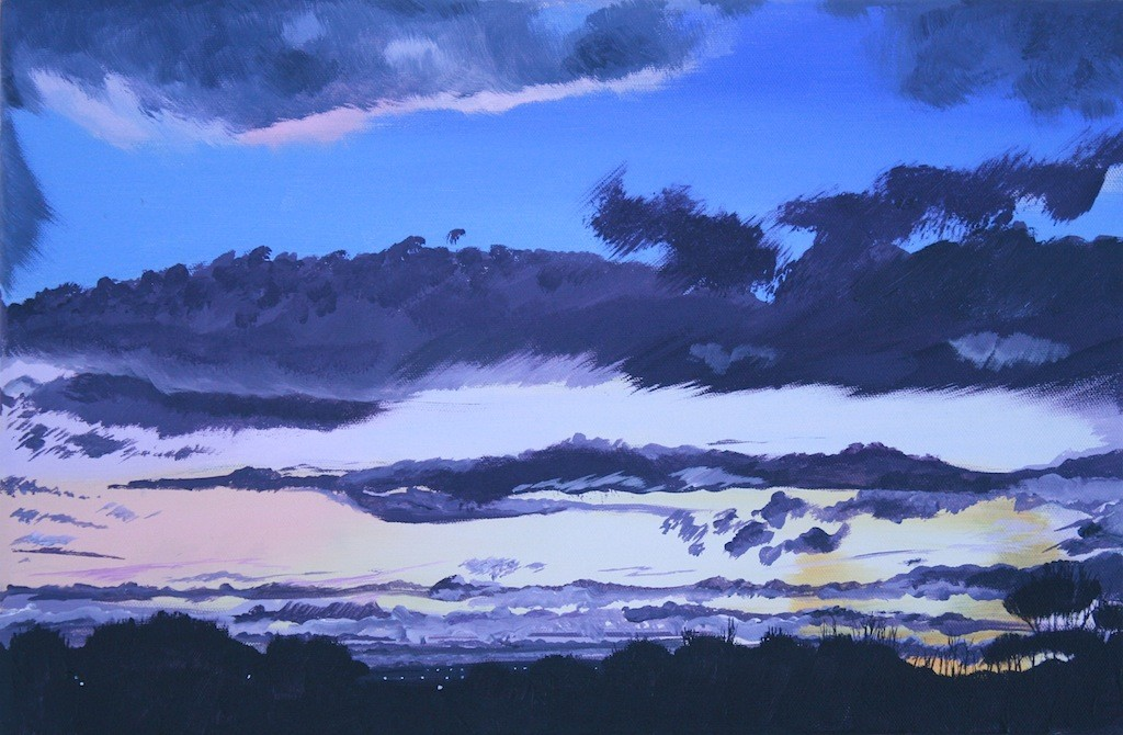 Floreat Mosslieam or Winter Sky, Mossley Hill by John Elcock (image courtesy of artist's website)