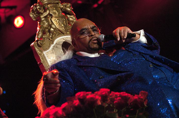 Solomon Burke at the Montreux Jazz Festival