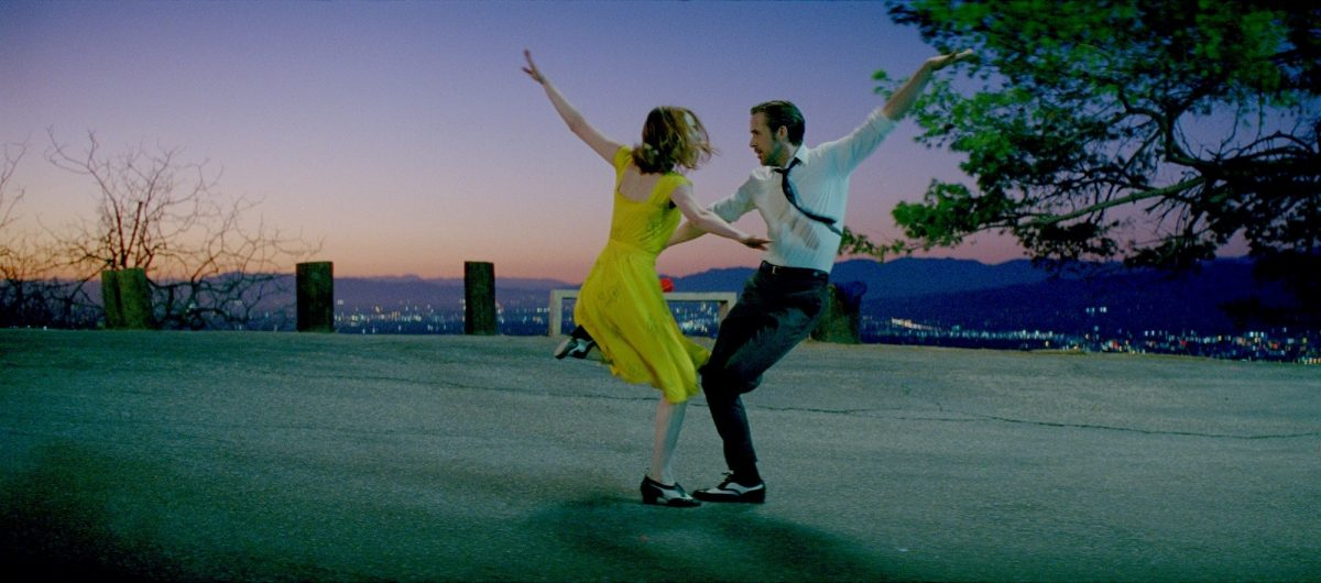 Stone and Gosling, dancing all the way to the Oscars