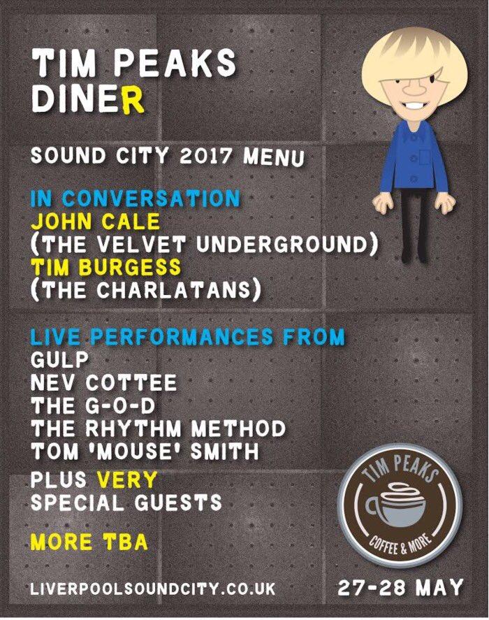 Tim Peaks Diner Sound City 2017