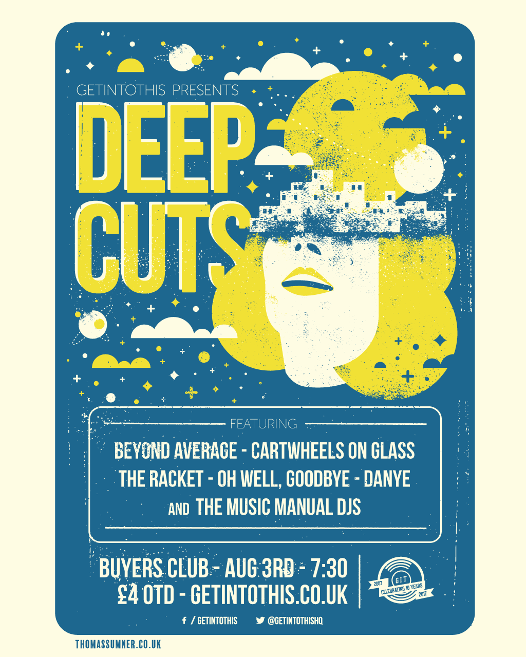 Deep Cuts #7 - at Buyers Club on August 3
