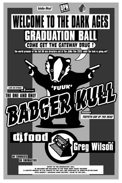 Welcome To The Dark Ages Graduation Ball