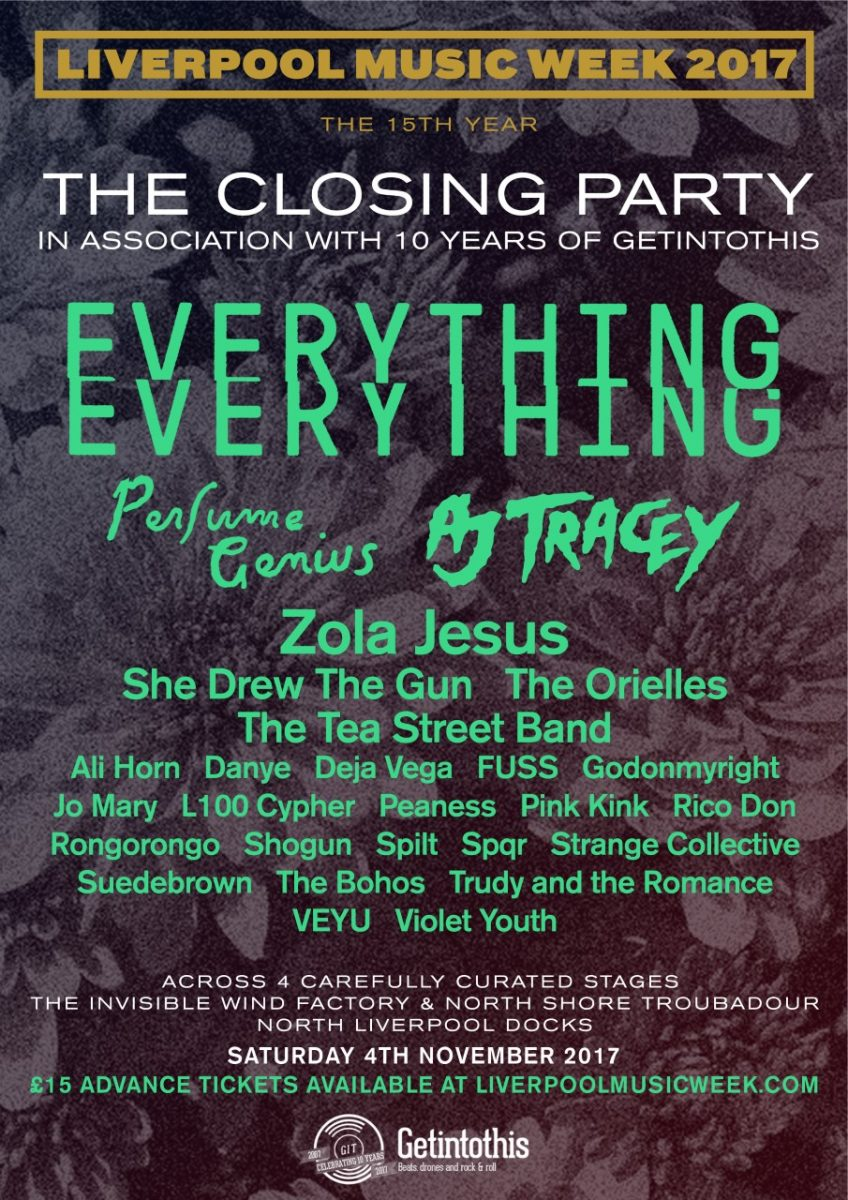 Liverpool Music Week 2017 closing party