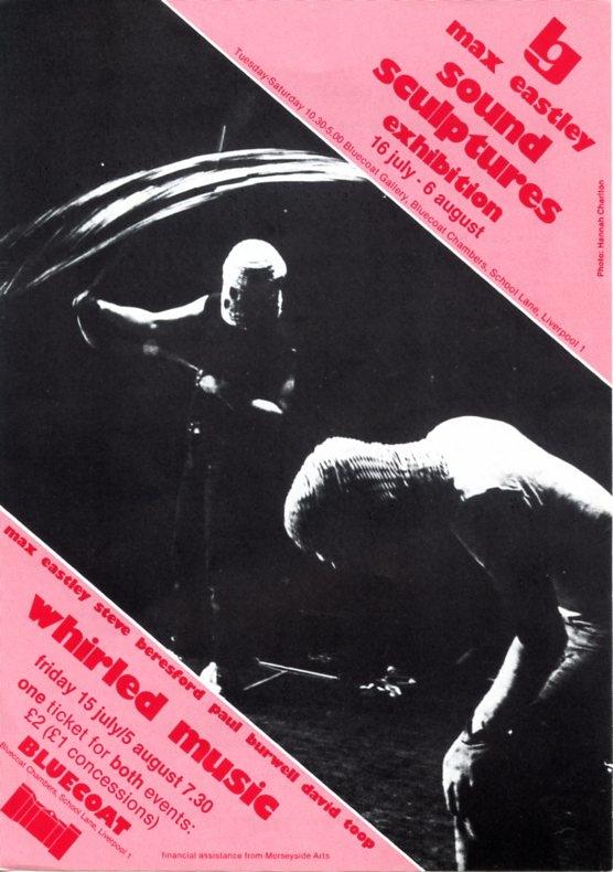 Bluecoat Whirled Music flyer '83 - courtesy of Bluecoat