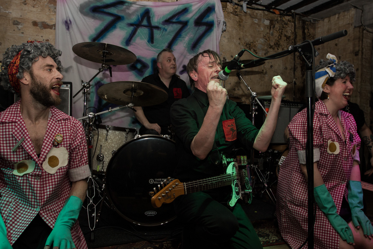 Pete Bentham & the Dinner Ladies, Liverpool Shipping Forecast