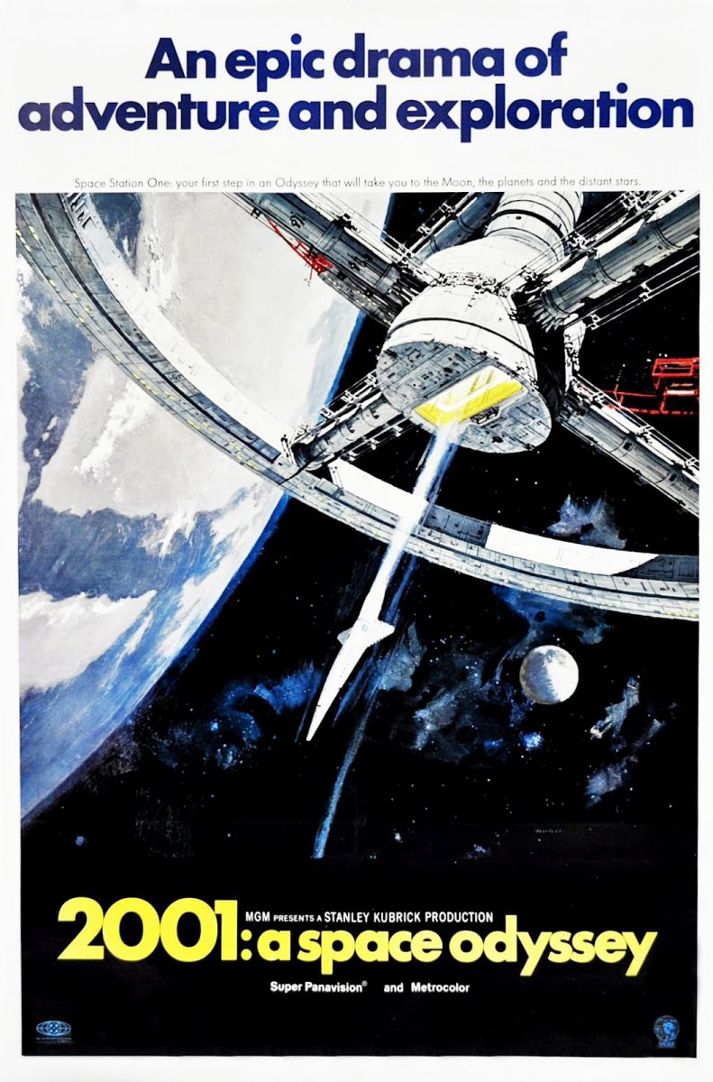 2001: A Space Odyssey original theatrical poster