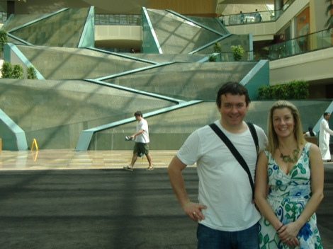 Mark & Rebecca in mall.jpg