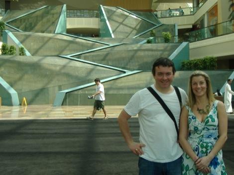 Mark & Rebecca in mall.jpg