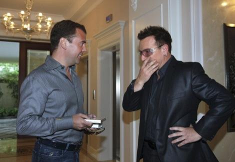 Dmitry Medvedev, Bono