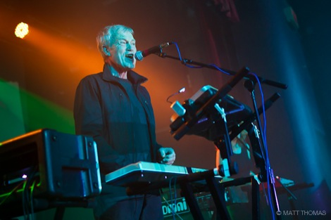 John Foxx performs in Liverpool