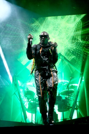 Tinie Tempah performing at The Liverpool Echo Arena 31.10.2011