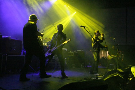 The Farm performing at The Justice Tonight Concert at Mountford Hall Liverpool University 9th December 2011