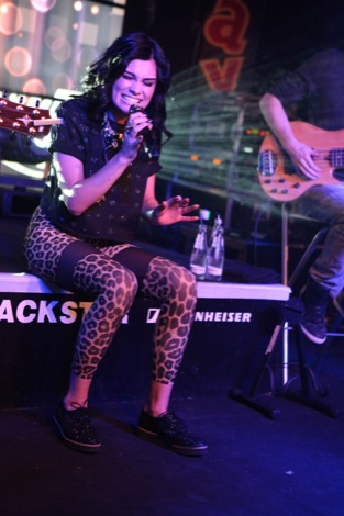 Jessie J performing at The Cavern in Liverpool 26.01.2012