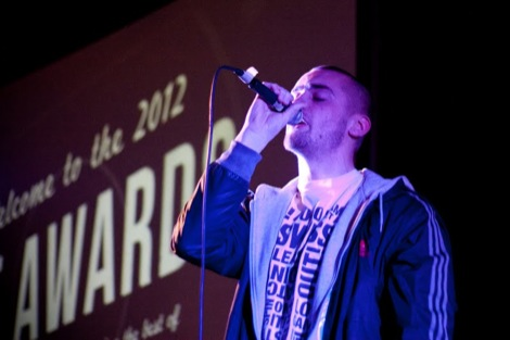 Bang On at the GIT AWARD 2012.jpg