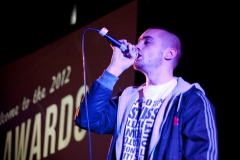 Bang On performing at the GIT AWARD 2012.jpg