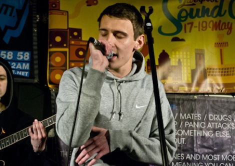 Coffe and Cake for funerals live at Liverpool Sound City 2012.jpg