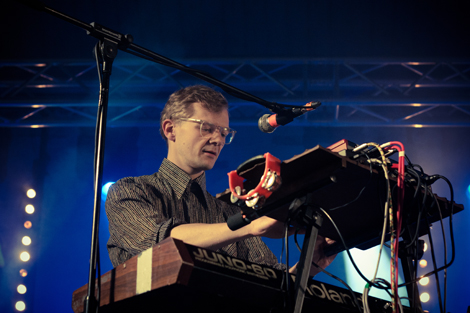 Django Django live at Liverpool Sound City 2012.jpg