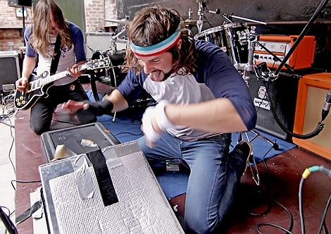 Jackson Firebird live at Liverpool Sound City 2012.jpg
