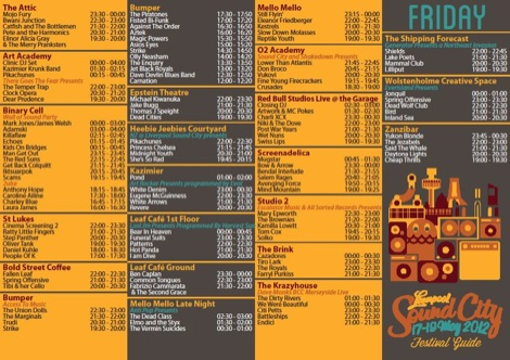 Liverpool Sound City 2012 line up Friday Getintothis.jpg