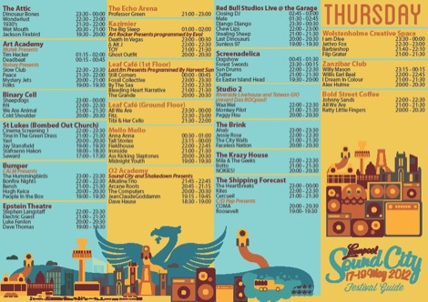 Liverpool Sound City 2012 line up Thursday Getintothis.jpg