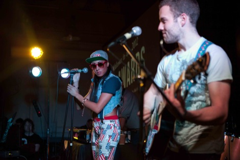 Miss Stylie and band at the GIT Award 2012.jpg