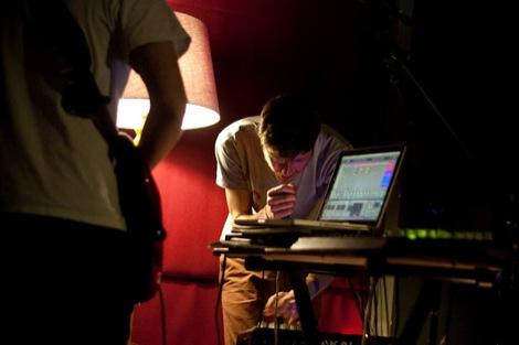 Sam singing Sun Drums live at Leaf.jpg