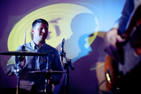 Tea Street Bands' Dom at the GIT AWARD 2012.jpg