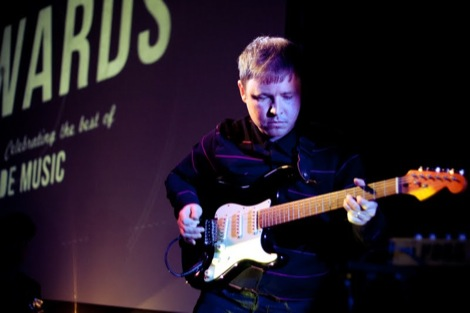 Tea Street Bands' Lee at the GIT AWARD 2012.jpg