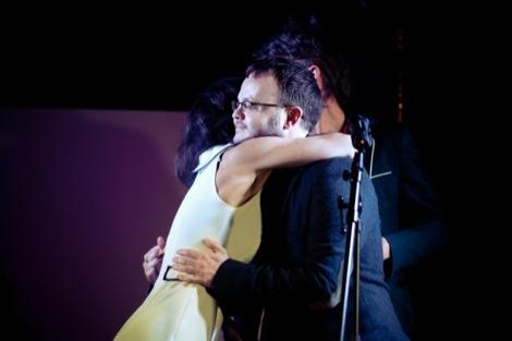 The Kazimier's Laura hugs Peter Guy after receiving the GIT Inspiration Award.jpg