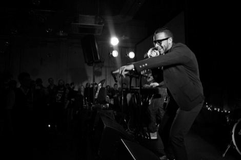Esco Williams points at the audience at the GIT Award 2012.jpg