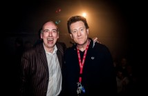 Justice_Tonight_At_The_Picket_Mick_Jones_and_Phil_Hayes