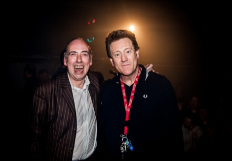 Justice Tonight At The Picket Mick Jones and Phil Hayes.jpg