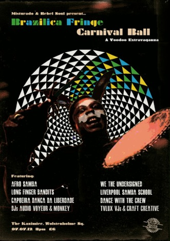 Brazilica Fringe Festival Liverpool Kazimier Camp and Furnace poster.jpg