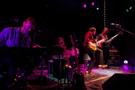 Dawes live at the Kazimier Liverpool music blog keys.jpg
