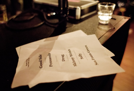 Death At Sea set list.jpg