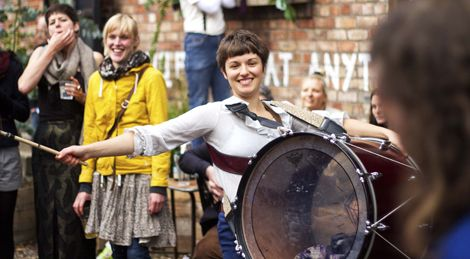 Harlequin Marching Band  live at everisland garden gathering at the kazimier.jpg
