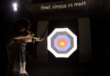 Archery  at the Kazimier Krunk Olympics.jpg