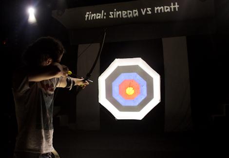 Archery  at the Kazimier Krunk Olympics.jpg