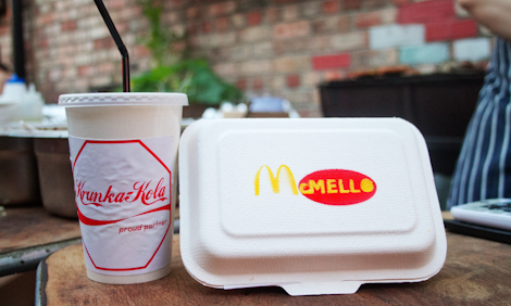 Krunka Kola and McMello burgers at the Kazimier Krunk Olympics.jpg